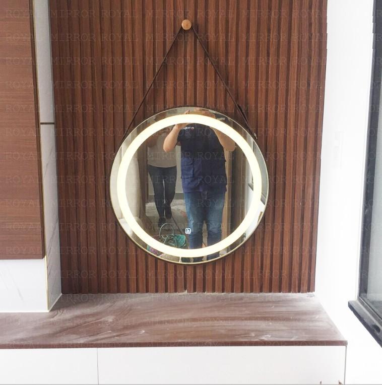 Gương đèn cảm ứng cao cấp cho bàn trang điểm