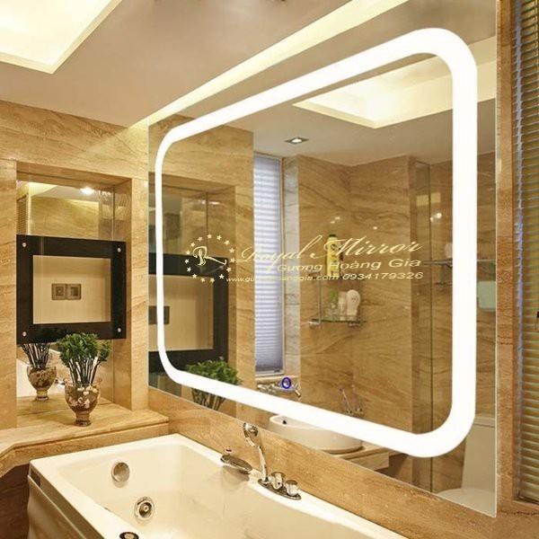Gương LED Viền Sáng