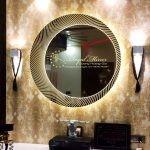 Gương LED Viền Sáng Decor mỹ thuật trang trí nội thất