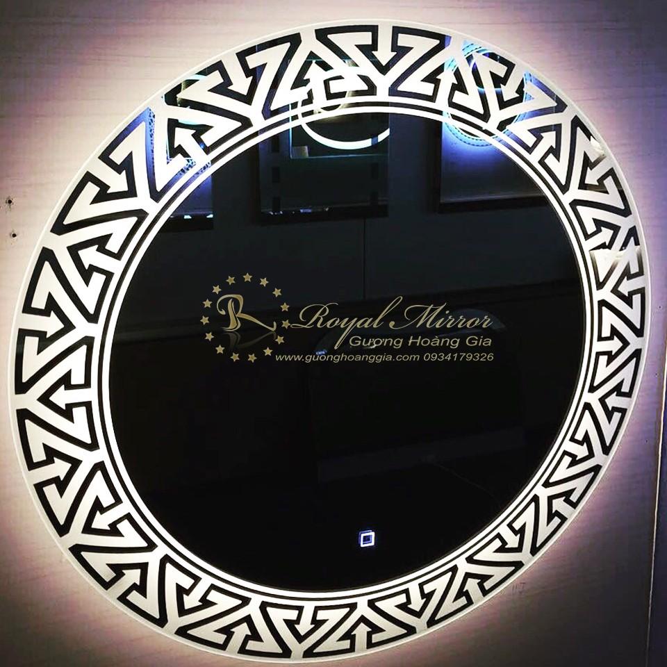 Gương LED Viền Sáng thiết kế theo ý tưởng khách hàng