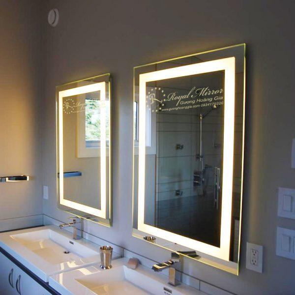 Spa, Khách Sạn thực sự trở lên sang trọng hơn với sản phẩm Gương Nhà Tắm LED của Hoàng Gia