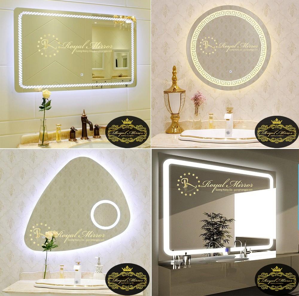 Thiết kế cao cấp tràn viền, hiện đại và mỹ thuật của Gương thông minh Royal