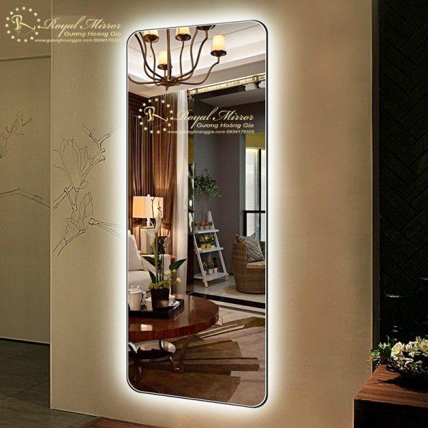 Gương Toàn Thân LED Hắt sáng mạnh mẽ, Chống Chói