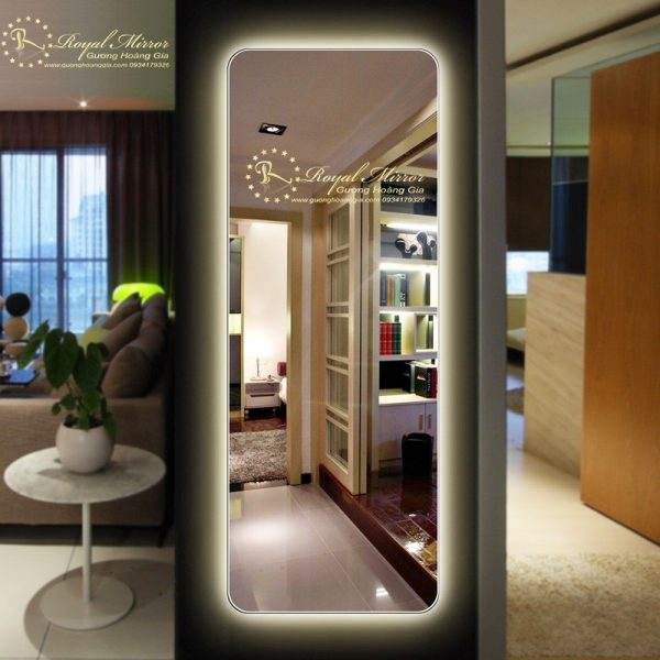Gương Toàn Thân LED thiết kế mỹ thuật cao cấp và Sang trọng