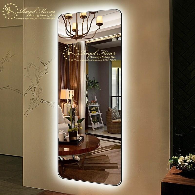 Gương Đứng Đèn LED cao cấp. Mã RTT1-166 ECO. KT 160*60cm