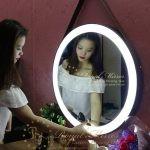 Gương trang điểm LED cảm ứng