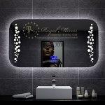 Gương phòng tắm cao cấp đèn LED cảm ứng có phá sương