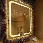 Gương nhà tắm Hoàng Gia cao cấp thông minh