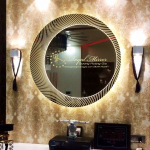 Gương nghệ thuật trang trí nội thất Luxury Hoàng Gia