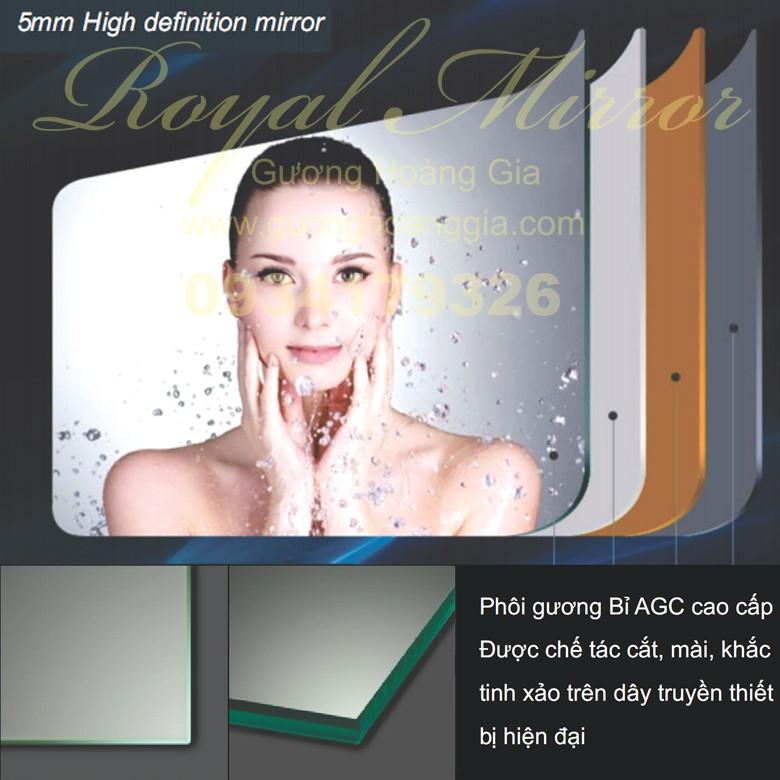 Gương Bỉ đèn LED giá tốt nhất tại GuongHoangGia.com