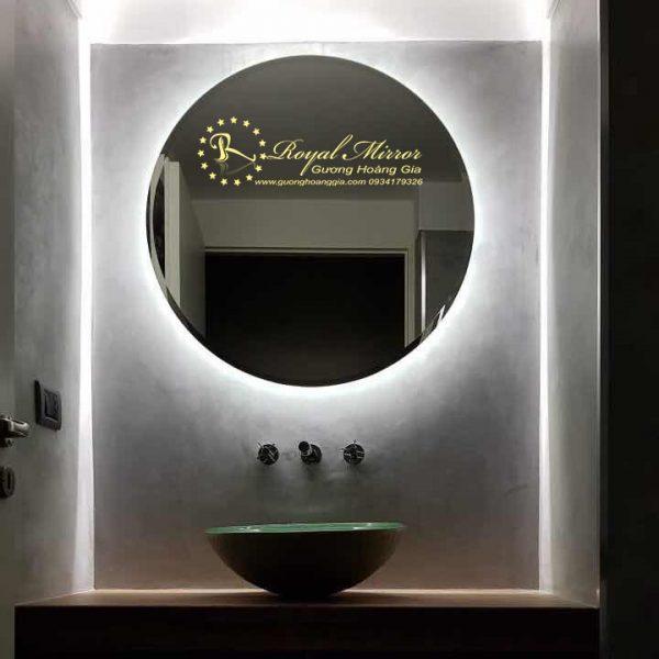 Gương đèn LED tròn ánh sáng Trắng