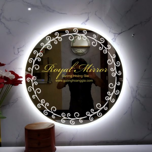 GUONG TRON LED DECOR 001