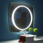 Gương đèn LED decor 80 * 80 cm