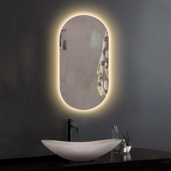Gương hình Oval 60 * 90 cm