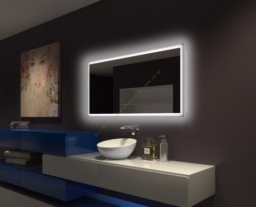 Gương phòng tắm khách sạn