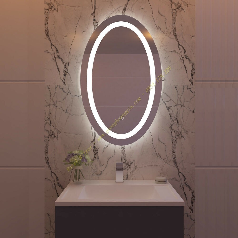 Gương LED Elip