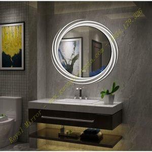 Gương LED Tròn Decor 60cm