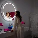 Gương LED Tròn bồn rửa tay