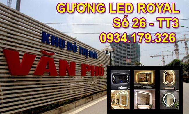 Gương đèn LED Hà Nội