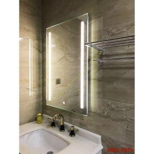 Thanh lý Gương Phòng Tắm có đèn, Cảm Ứng Bật/ Tắt, Hàng xuất dư công trình cc- KT 50*70cm VIN2-5070