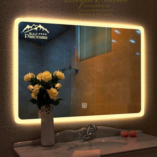 Gương phòng tắm khách sạn, resort thiết kế riêng