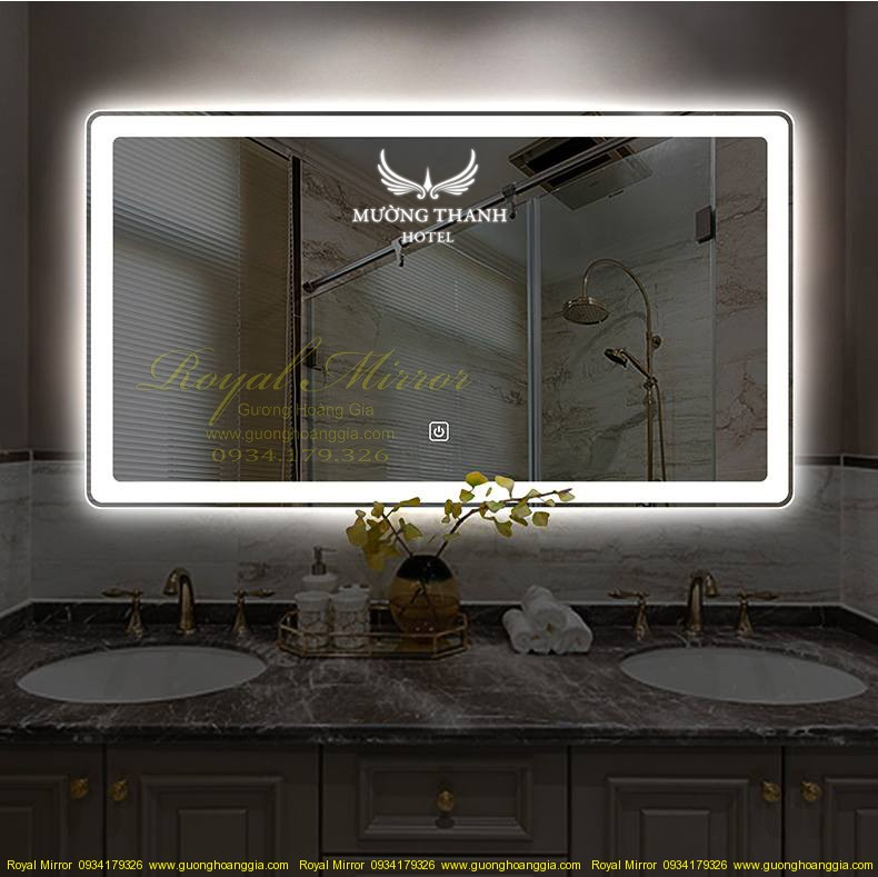 Gương Phòng Tắm Khách Sạn cao cấp