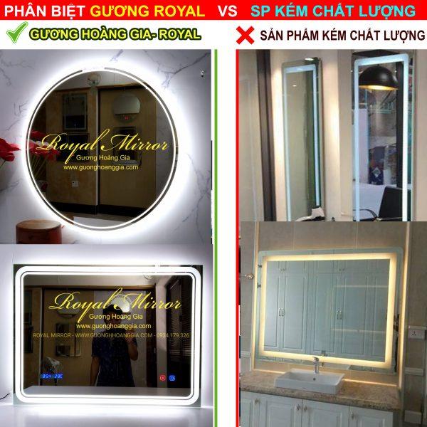 gương đèn LED cao cấp ROYAL