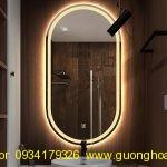GUONG LED OVAL PHONG TAM