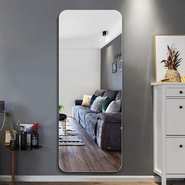 Gương đứng dán tường