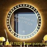 Gương đèn LED Tròn nhà tắm decor DC206