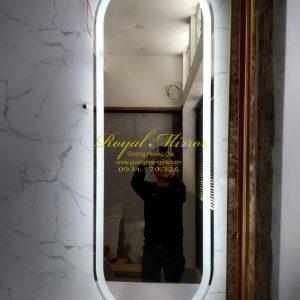 Gương đững OVAL soi toàn thân đèn cảm ứng thông minh