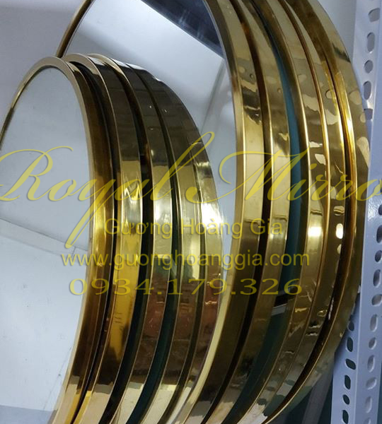 Xưởng sản xuất Gương mạ vàng Hoàng gia