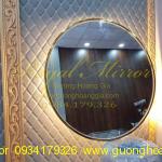 gương mạ Vàng đèn LED cao cấp