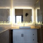 Gương Đèn LED nhà tắm. KT 100*80cm. Mã RCN2-108