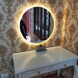 Gương trang điểm thông minh cao cấp. Đèn LED cảm ứng. Fi 60cm. Mã RT1-60 LUX