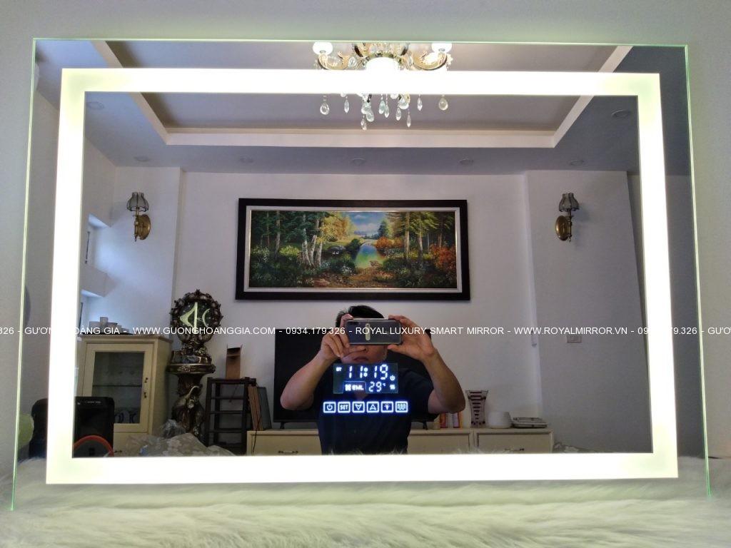Gương Bluetooth Hoàng Gia tại Hà Nội